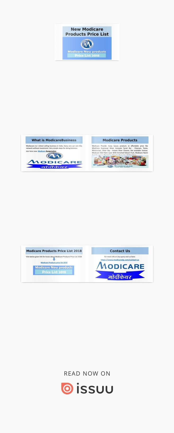 new modicare business products price list 2018 modicare products