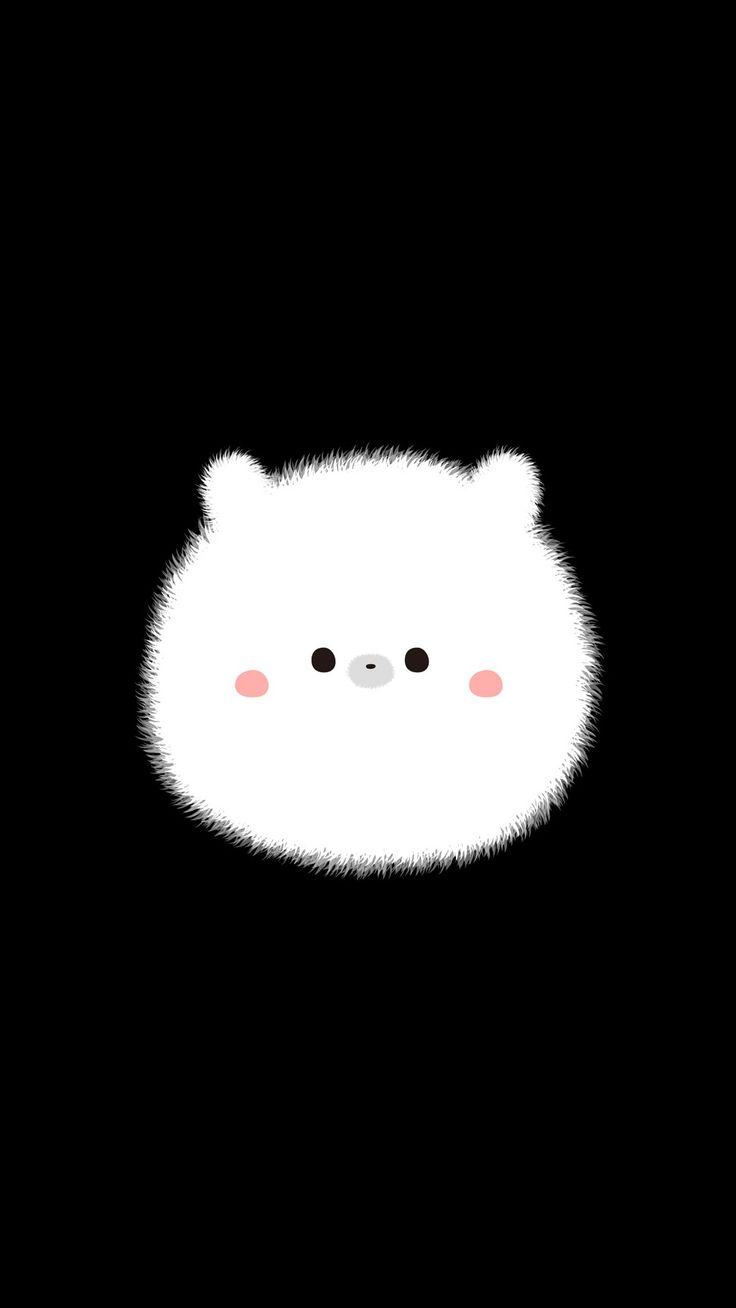 Illustration art cute white