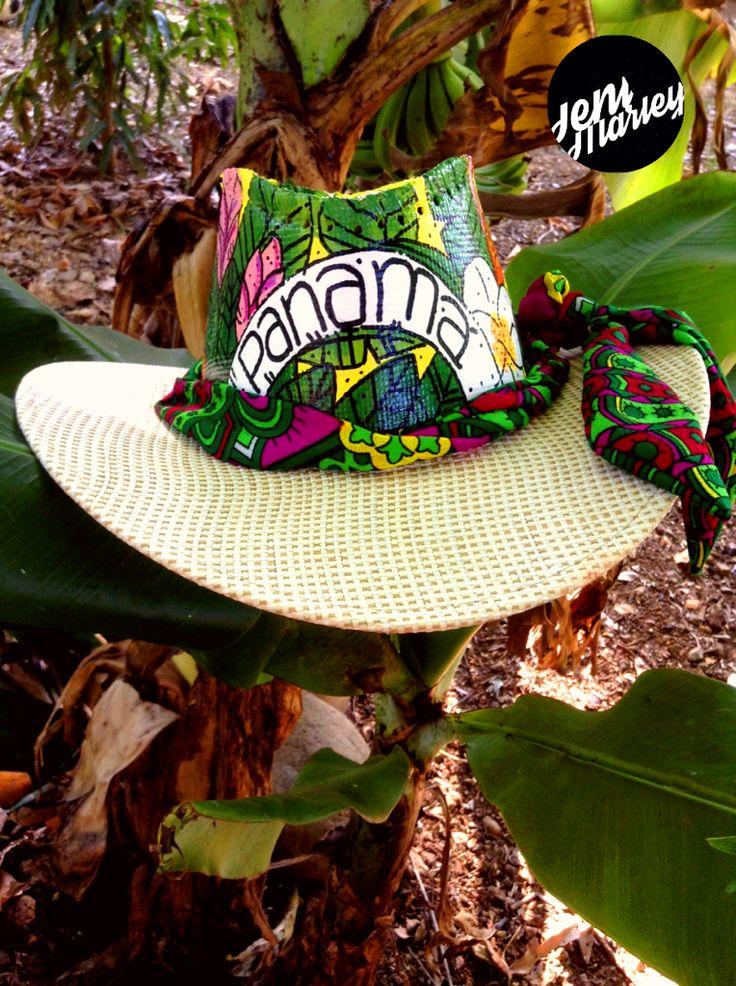 ☀️QUE VIVA EL SOL ☀️ sombreros pintados a mano, en honor a la flora y fauna de…