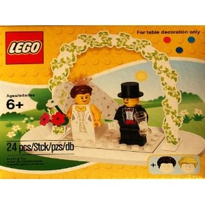 Guess we should renew our vows...Table Decorations, Brides Grooms, Wedding Brides, Grooms Tables, Minis Figures, Figures Sets, Lego Minis, Tables Decor, Cake Toppers
