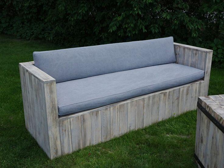 Sofa ogrodowa z poduszkami Thar