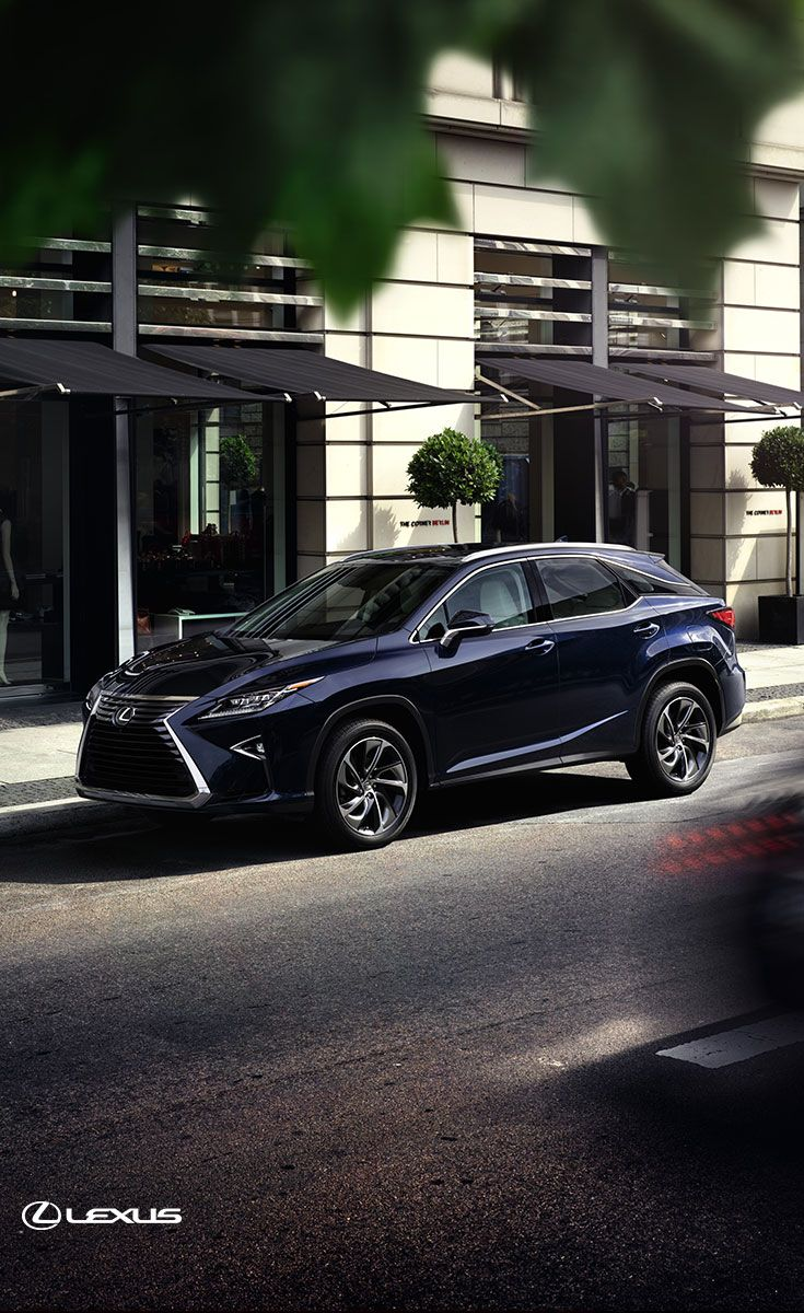 The 2017 Lexus RX—the sophisticated luxury SUV. Click to see more.