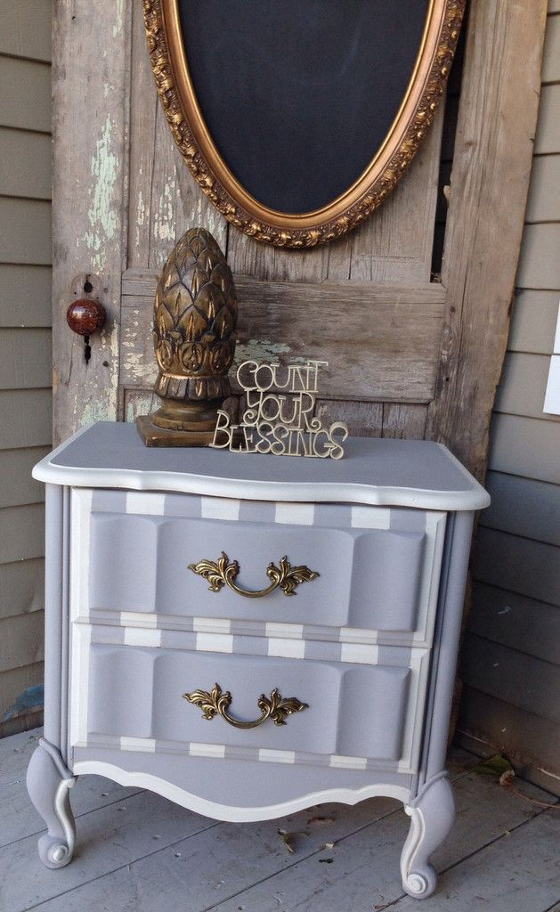 Gorgeous! Manatee and Parchment from Fairy Chalk Mother's single step paint and finished wi