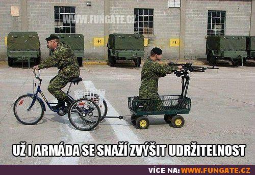 Už i armáda se snaží zvýšit udržitelnost