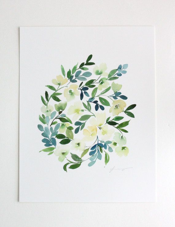 Artist Series: Yao Cheng Design | Otomi Home #watercolor #wallart