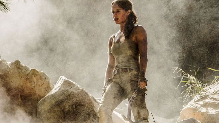 Lara Croft by Alicia Vikander gets a major muscle makeover in Tomb Raider 2.0   #actionmovie #aliciavikander #bodybuilding #cultmovie #laracroft #movieposter #movietrailer #movies #muscle #superhero #tombraider #videogame #women