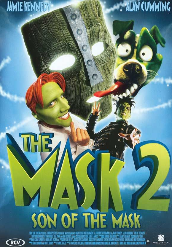 Maske 2 - Son of the Mask - 2005 - DVDRip Film Afis Movie Poster