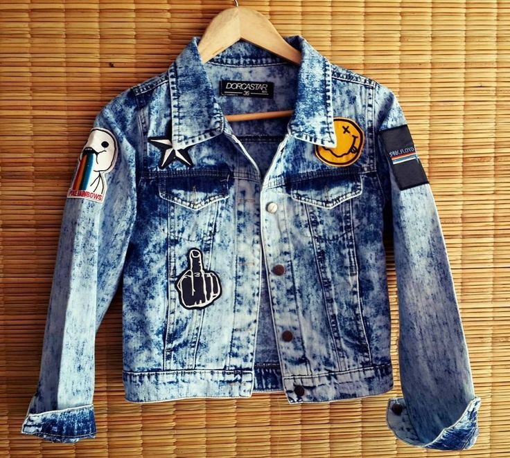 Campera de jeans con parches Nevada - Ventas por mayor