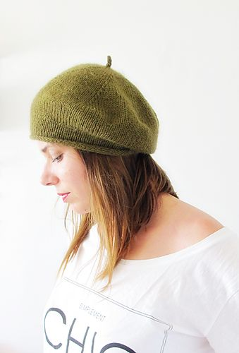 Ravelry: Salut Chéri Beret pattern by Sari Nordlund- free knitting patterns