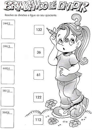 Atividades de Matemática 3º ano - SÓ ESCOLA