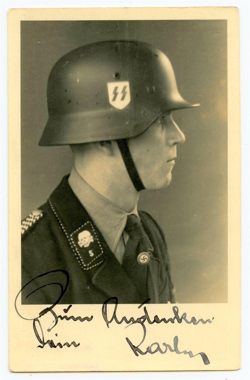 Foto - Esesak s helmou a venovanim (6727507308) - Aukro - největší obchodní portál