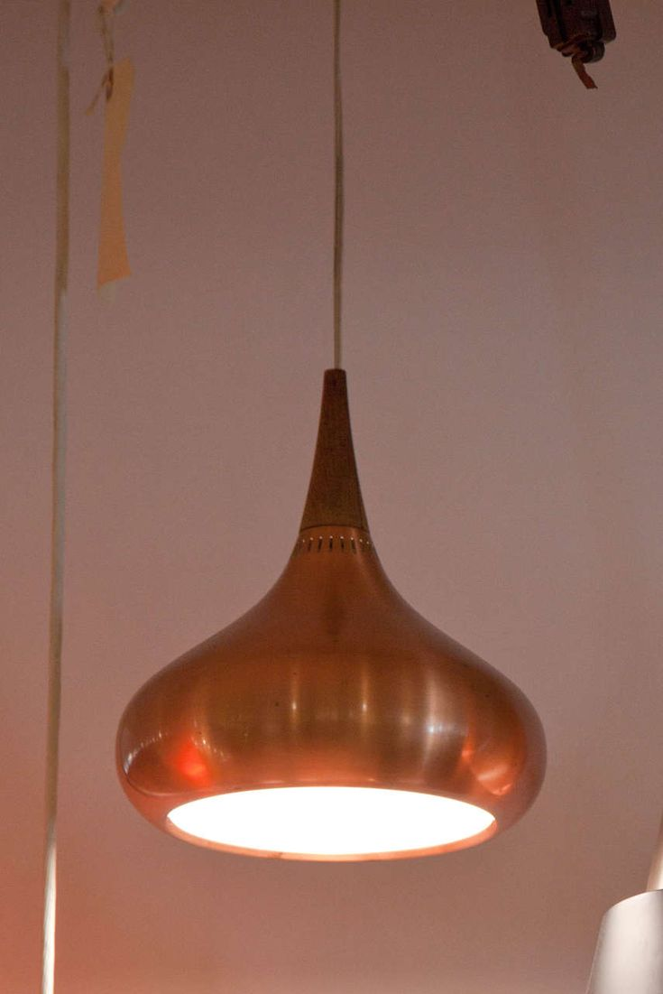 Orient Copper Pendant by Jo Hammerborg for Fog and Morup 3