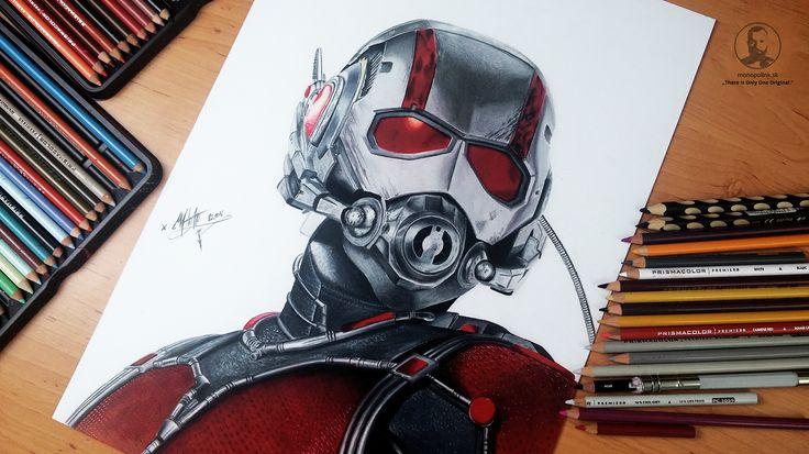 Antman - marvel drawing
