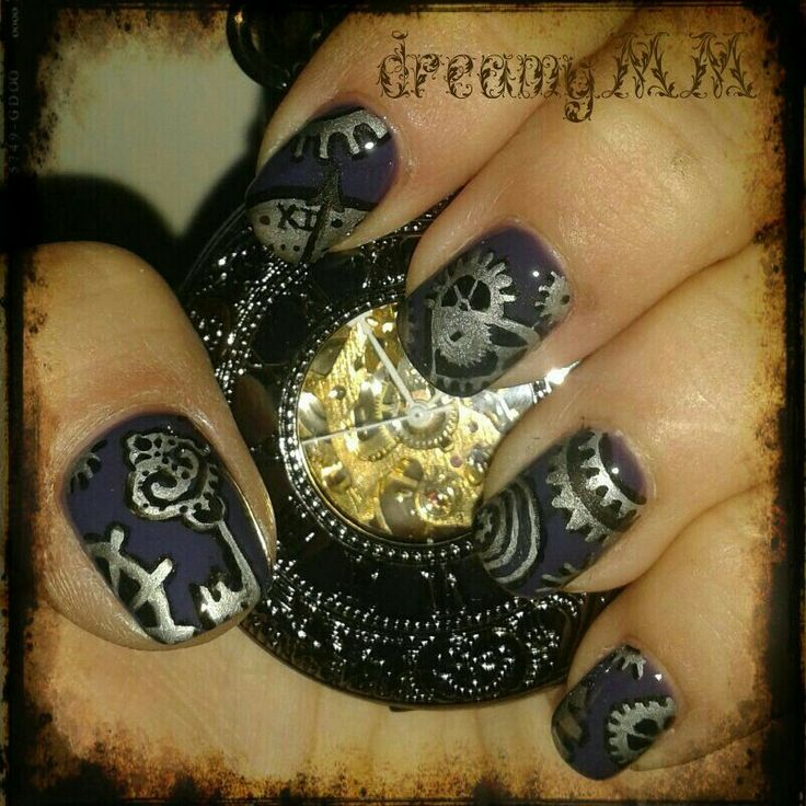 25 best ideas about steampunk nails on pinterest easy for Easy steampunk ideas