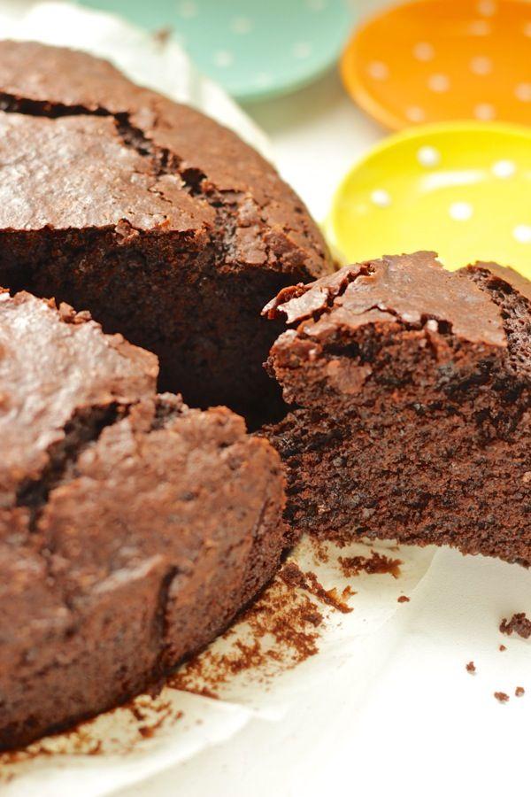Torta al cioccolato senza pesare, avete un cucchiaio, usate quello!!!