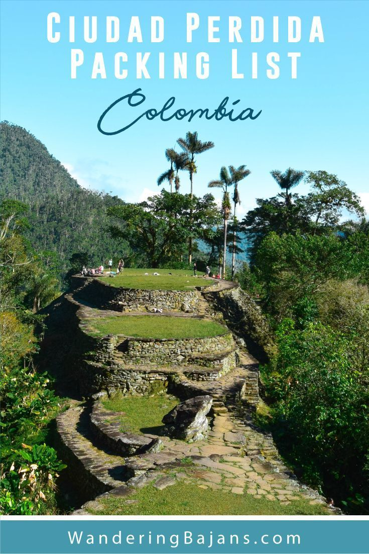 The best packing list for the Ciudad Perdida Trek in  Colombia. Ready to  hike to Colombia s Lost City  Then find out everything you need to know, ... a0f0840243