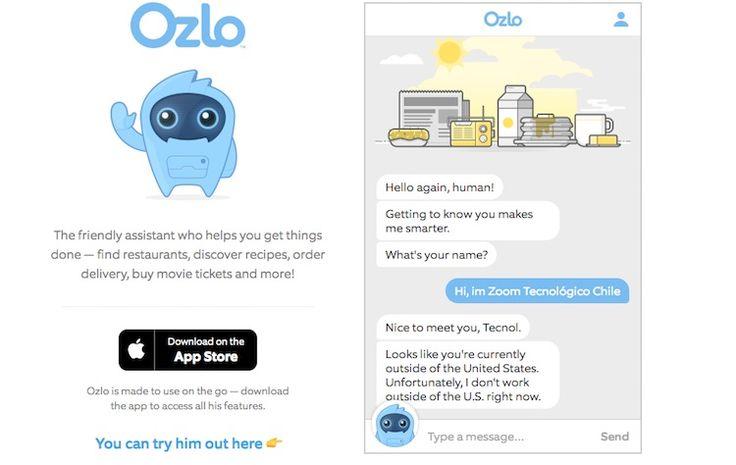 Te presentamos Ozlo el nuevo asistente virtual para iOS