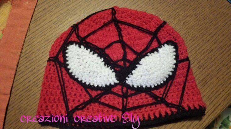 Spiderman uncinetto