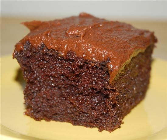 Chocolate Cake With Milk Chocolate-Peanut Butter Frosting And Peanut ...