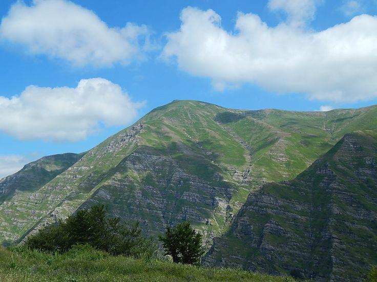 Monte Gorzano (Monti della Laga) e le sue cascate  luglio 2016