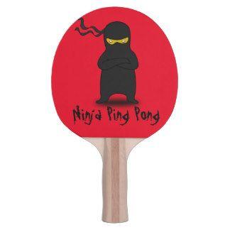 Ninja Ping Pong Paddle