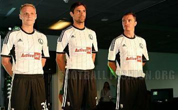 Legia Warsaw 2013/14 adidas Home, Away and Third Kits