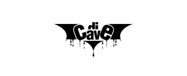 Di Cave. Logo design by Antoine Chung.