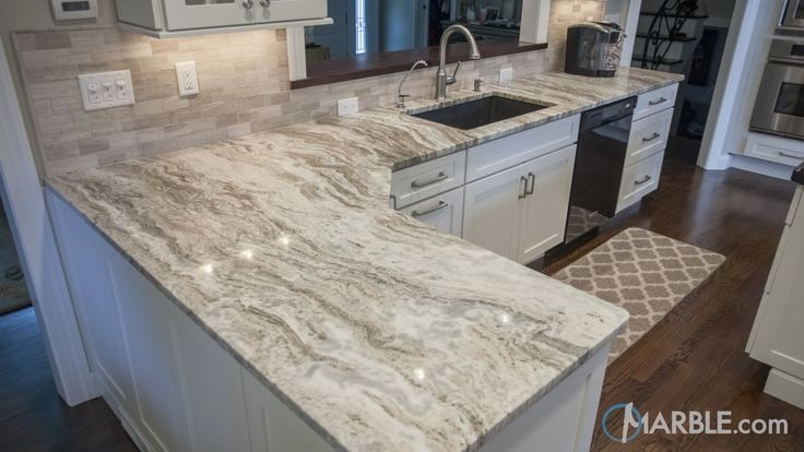 Fantasy Brown Quartzite Kitchen Countertop