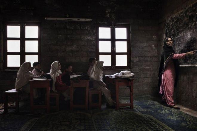 Students at Foundation School in Chalt Pain, Gilgit-Baltistan, northern Pakistan