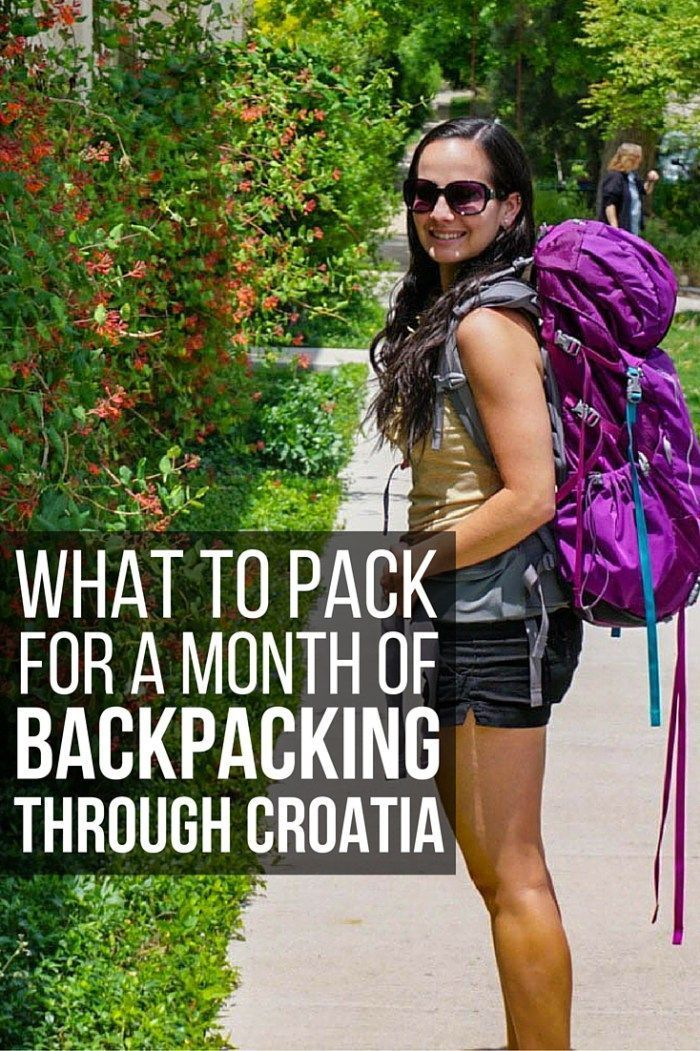 To help you pack accordingly for your Croatia trip, here is the ultimate guide on what to pack for an unforgettable month of backpacking Croatia! http://www.littlethingstravel.com