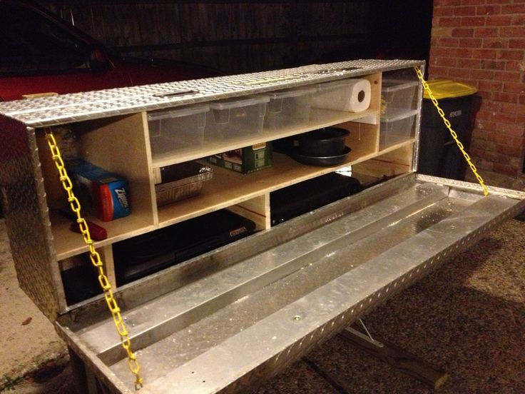 Turn a tool box into a Chuck Box