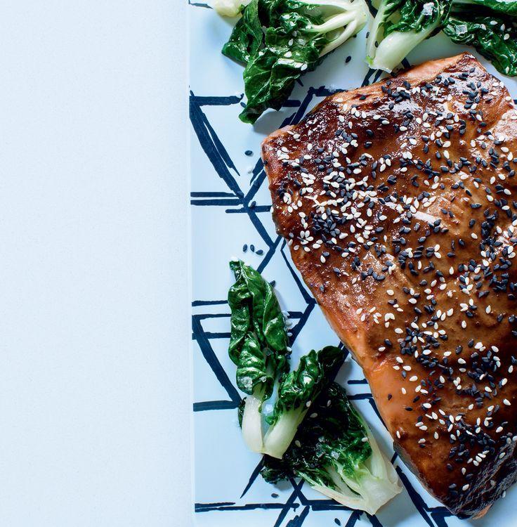 Recette de saumon au soya et au gingembre