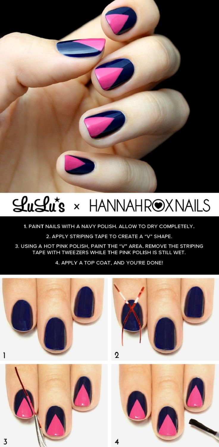 1000 Ideas About Navy Blue Nail Polish On Pinterest Navy Blue