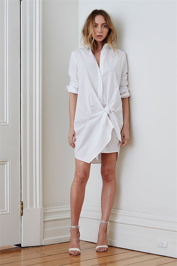 1AM DRESS WHITE by Maurie & Eve