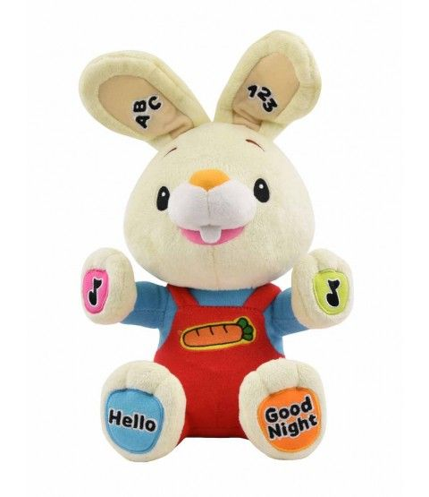 Play /& Sing Harry the Bunny Interactive Toy Baby First TV Stuffed Animal Toy,