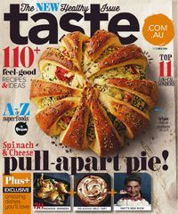 Taste magazine available to checkout and read on on your computer, smartphone or tablet #cooking #magazines #zinio