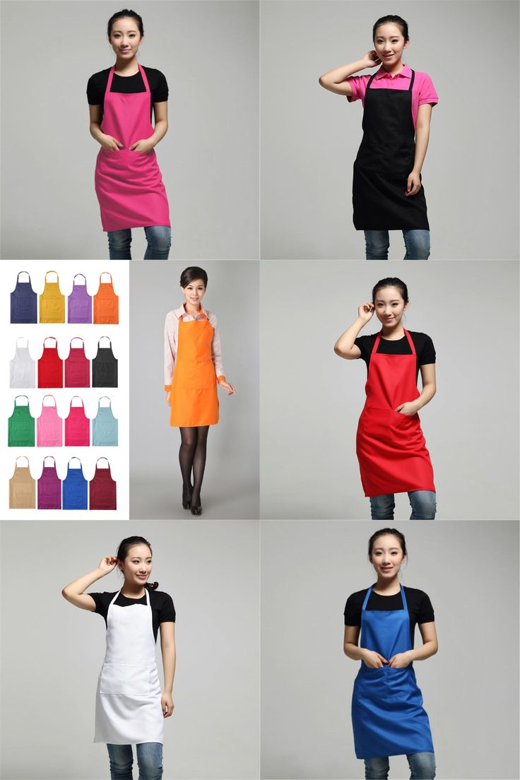 [Visit to Buy] 2017 New Black Cooking Baking Aprons Kitchen Apron Restaurant Aprons For Women Home Sleeveless Apron xa-N833 #Advertisement