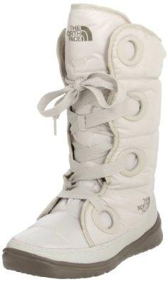 The North Face Destiny Down Boot - Women's Shiny Moonlight Ivory/Classic Khaki: Boots Women, Moonlight Ivory Class, Snow Boots, Faces Destiny, Ivory Class Khakis, Faces Boots, Women Shiny, The North Faces, Shiny Moonlight