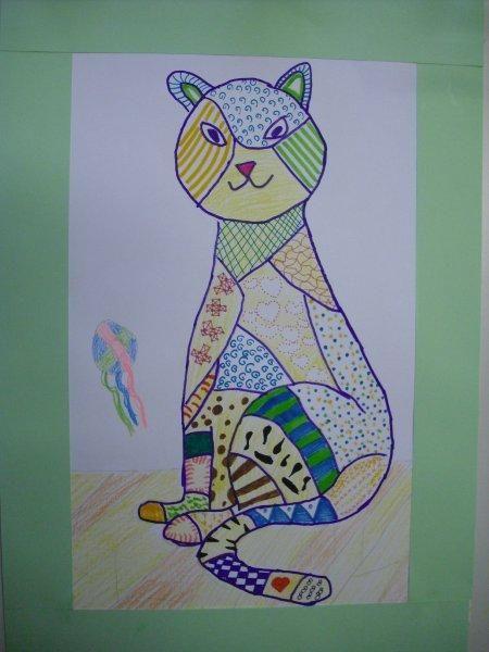 Tekenmaar kinderen: structuren tekenen