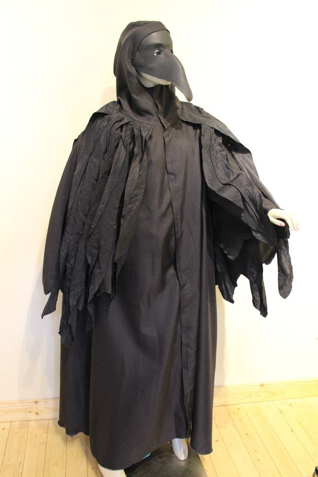 Kostüme für Erwachsene - Raben Kostüm Halloween - ein Designerstück von BAtriz bei DaWanda