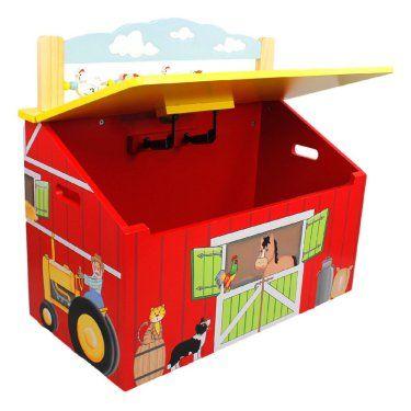 Fantasy Fields Happy Farm Toy Box  sc 1 st  Pinterest & 1989 best Farm Toys images on Pinterest | Farm toys Toy display ... Aboutintivar.Com