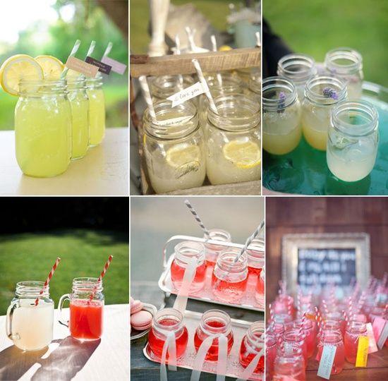 Mason jars wedding #Wedding Photos #Wedding #romantic Wedding #Wedding Ideas
