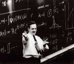 Richard Feynman, haha what a great picture.