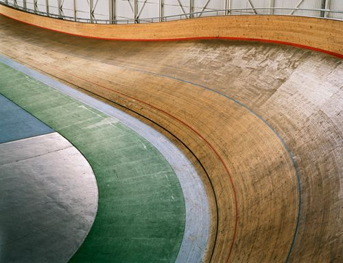 "James Deavin | Velodrome: from series ""The Games We Play"", 2006-2007"