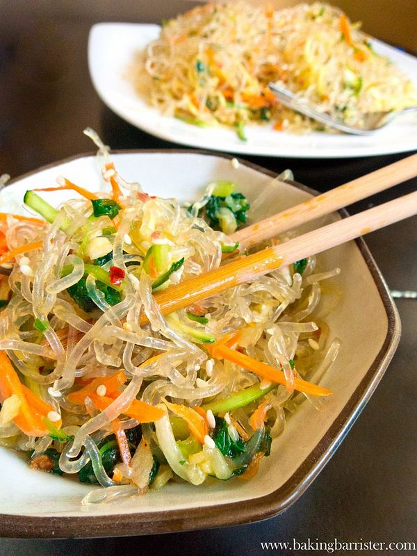 The Baking Barrister: Sesame Orange Kelp Noodles