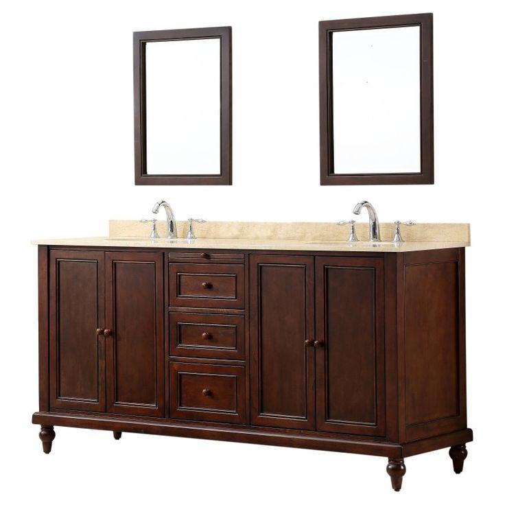 Diy bathroom vanities you can make before the guests arrive - 17 Best Ideas About Dark Vanity Bathroom On Pinterest