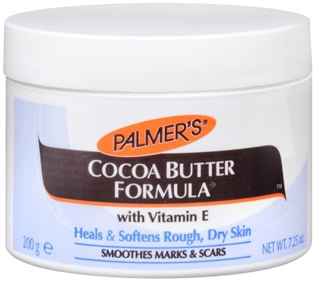 Palmer's Cocoa Butter Formula Why have a never used this wonderful product before?? inexpensive and totally lovely! works soooo well and smells delightful!