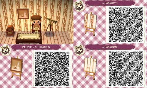 Animal Crossing New Leaf Floor, Painting and Wallpaper