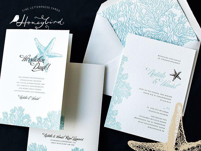 Hochzeitskarten Set Midsommer, Einladungskarten Mit Zartem Blumenkranz,  Gedruckt Im Letterpress In Hamburg. | HONEYBIRD Fine Letterpress Cards |  Pinterest ...
