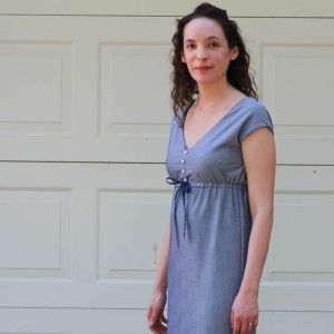 Striped Maxi Sundress Tutorial - free pattern lots of free patterns